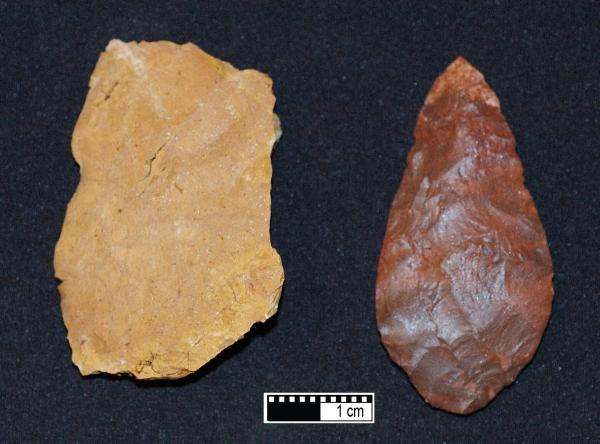 human evolution early humankinds stone tools Stone 'tools' may not have been made by human ancestors, research finds.