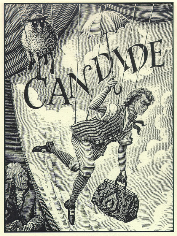 Candide Ou Loptimisme Man With The Muckrake